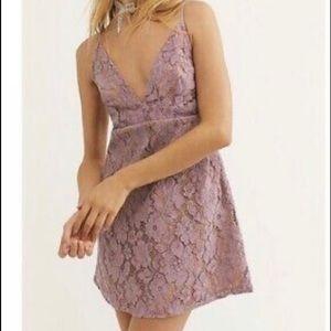 NWOT Free People Dangerous Love Mini Dress